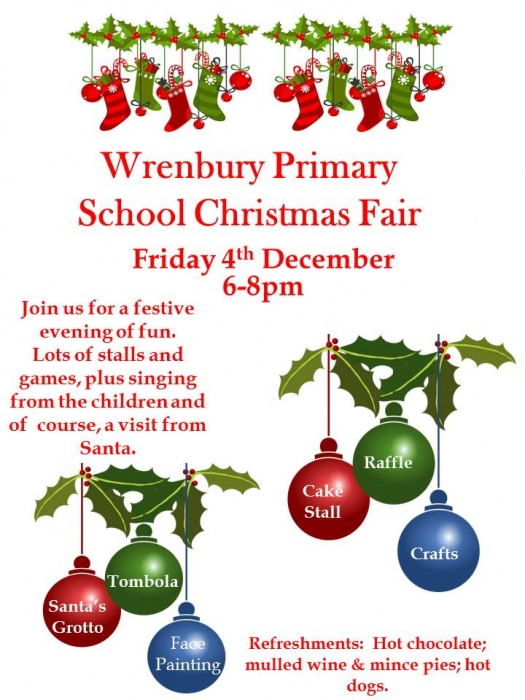 Wrenbury Primary School Christmas Fair