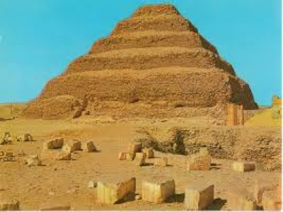 Zoser's step pyramid